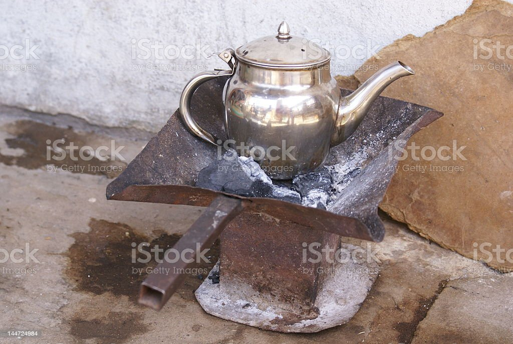 hot tea in africa royalty-free stock photo