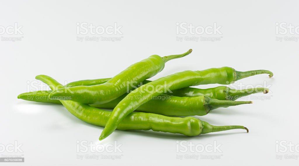 hot thai chilli stock photo