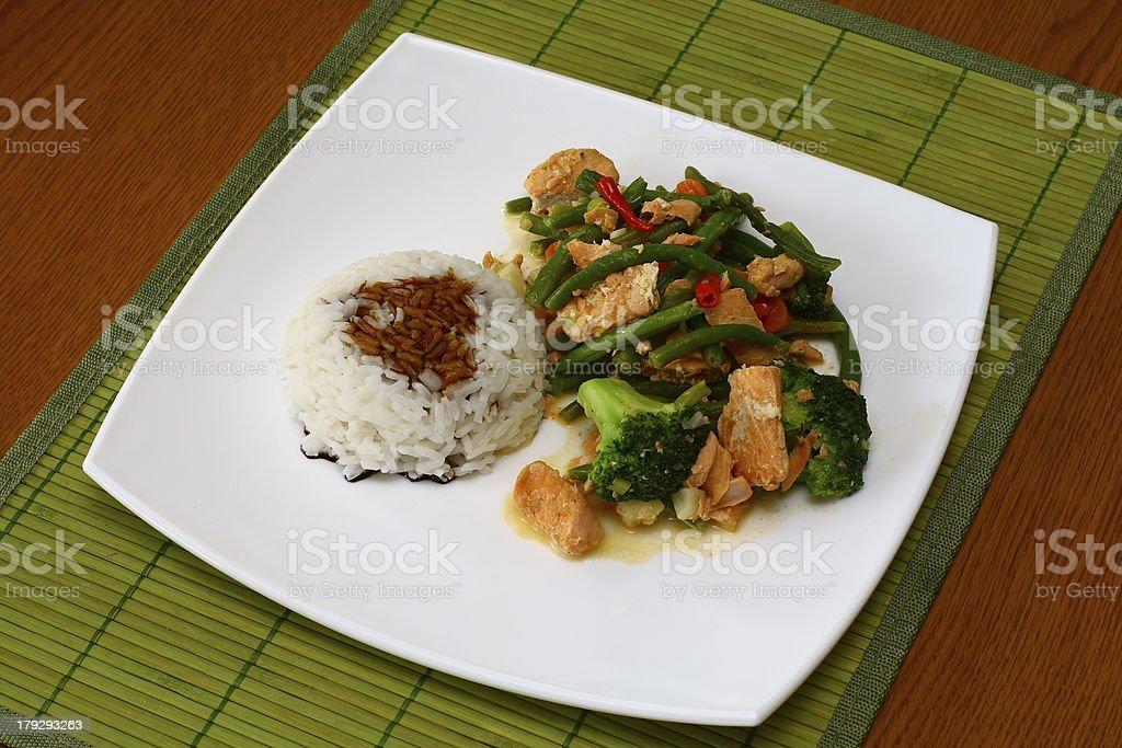 Hot Thai food royalty-free stock photo