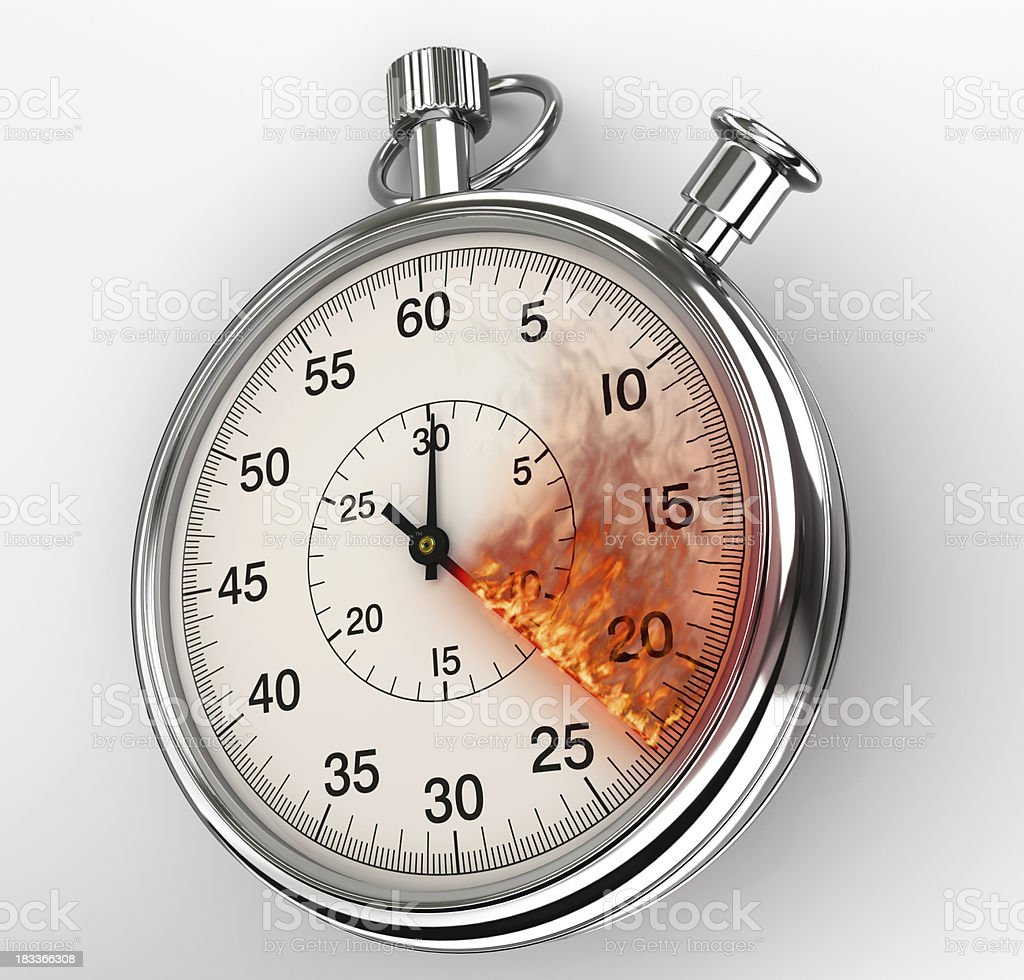 Hot Time royalty-free stock photo