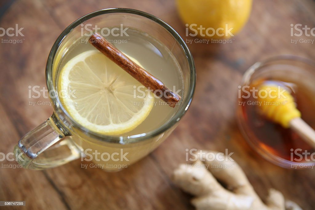 Hot toddy stock photo
