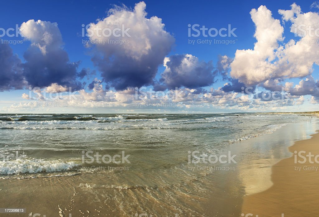 Hot tropical Island - lonely beach royalty-free stock photo
