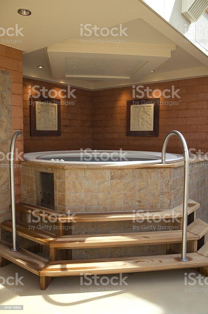 Hot Tub royalty-free stock photo