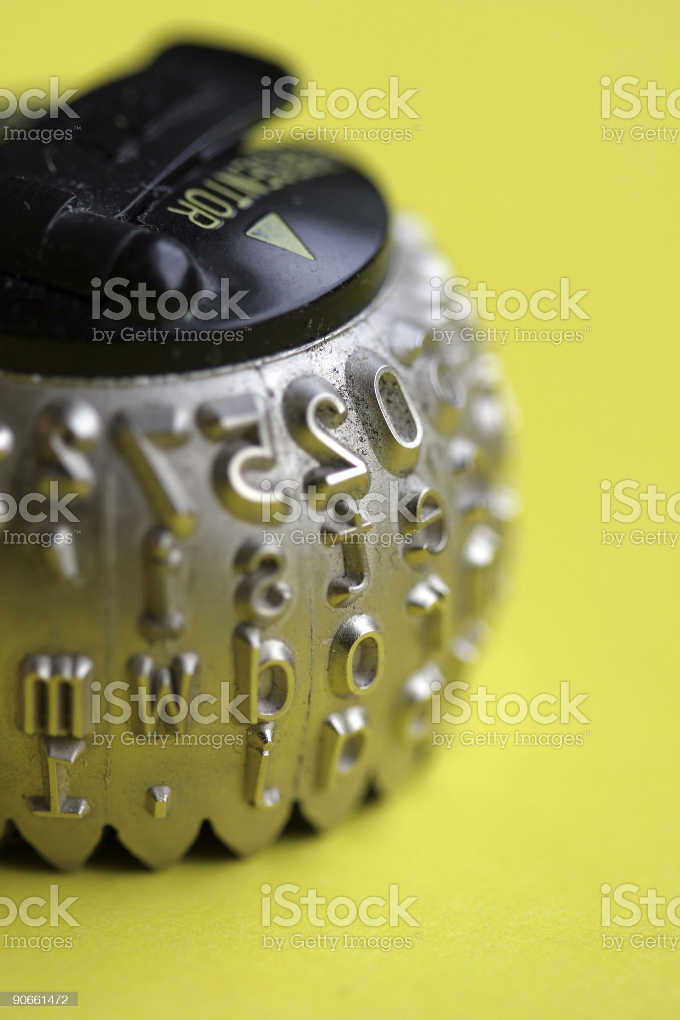 Hot Type one royalty-free stock photo