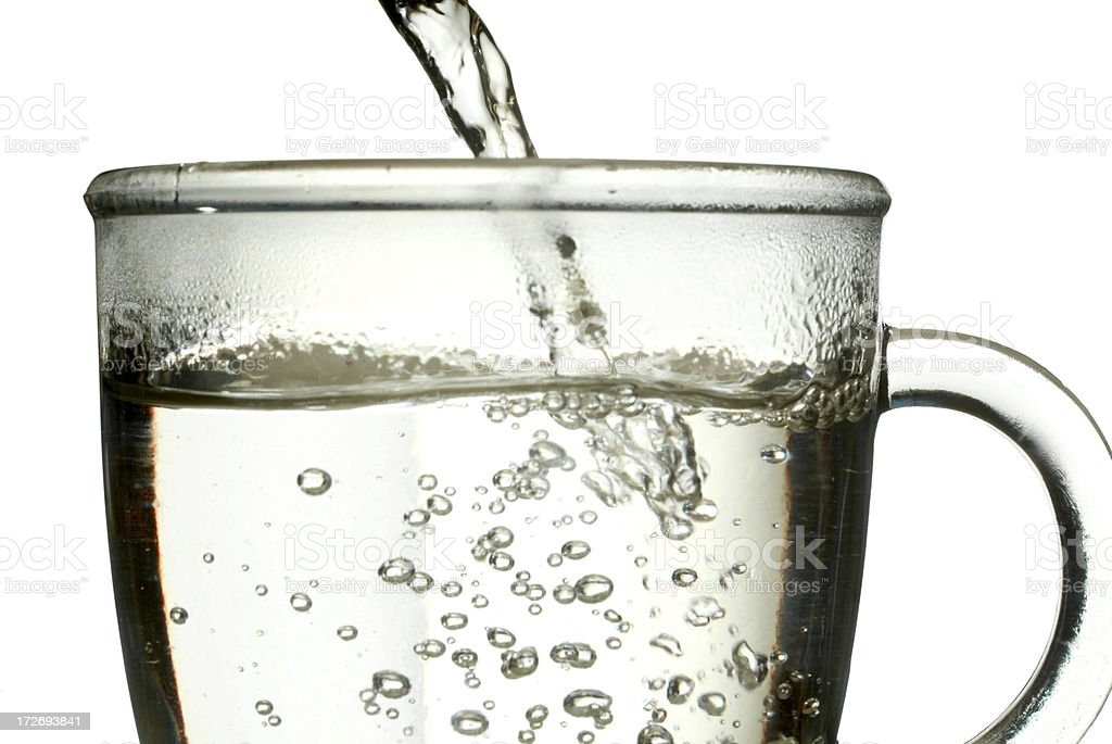 Hot Water Cup stock photo