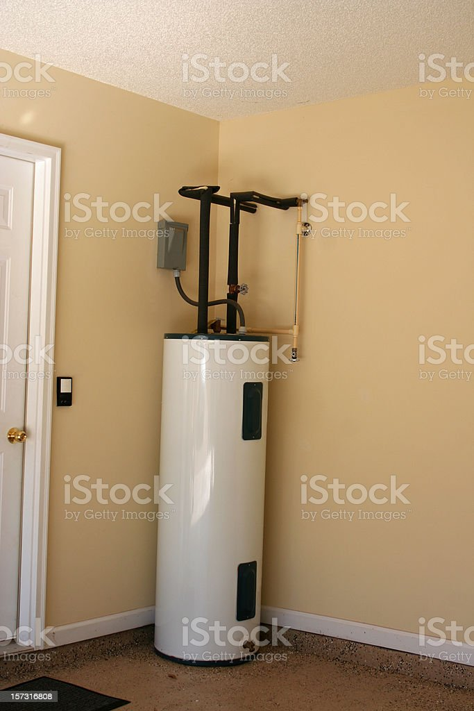 Hot Water Heater stock photo