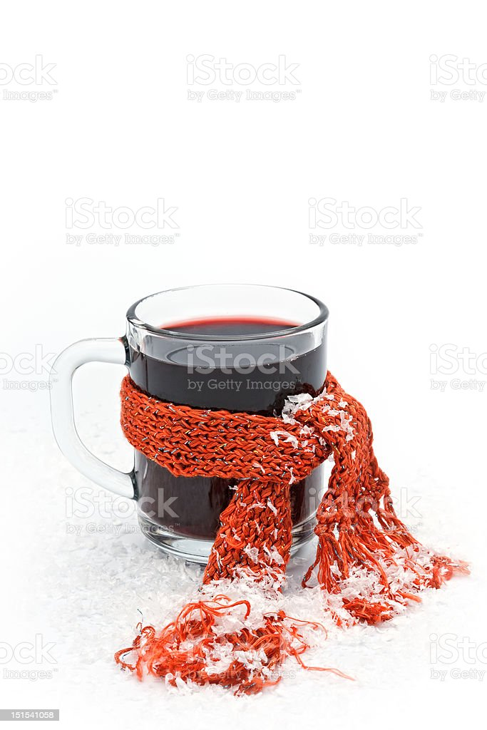 hot wine stock photo