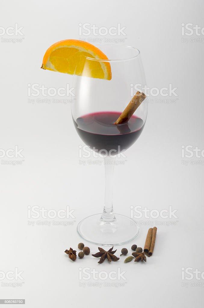 hot wine stock photo