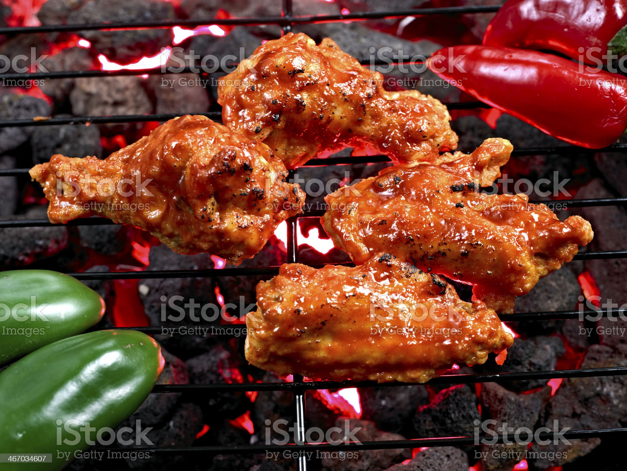 Hot Wing royalty-free stock photo