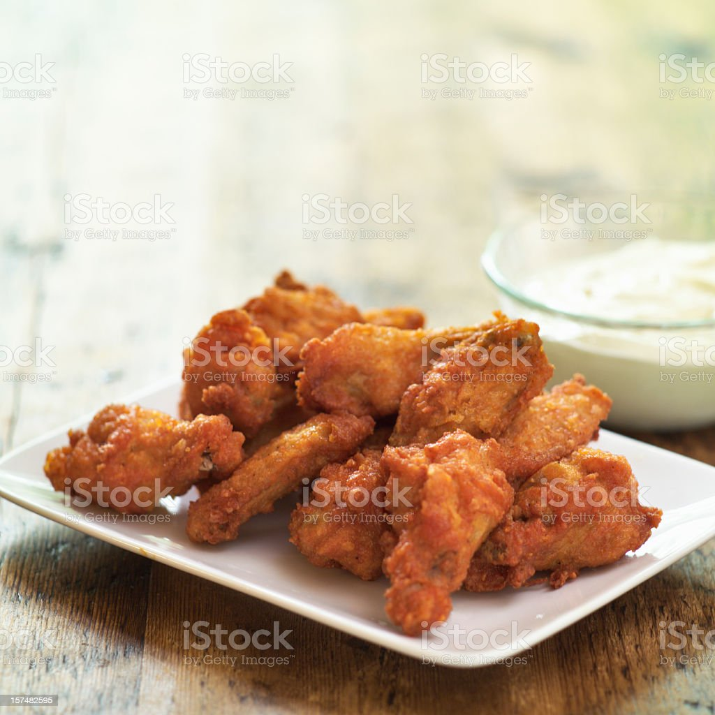 Hot Wings royalty-free stock photo