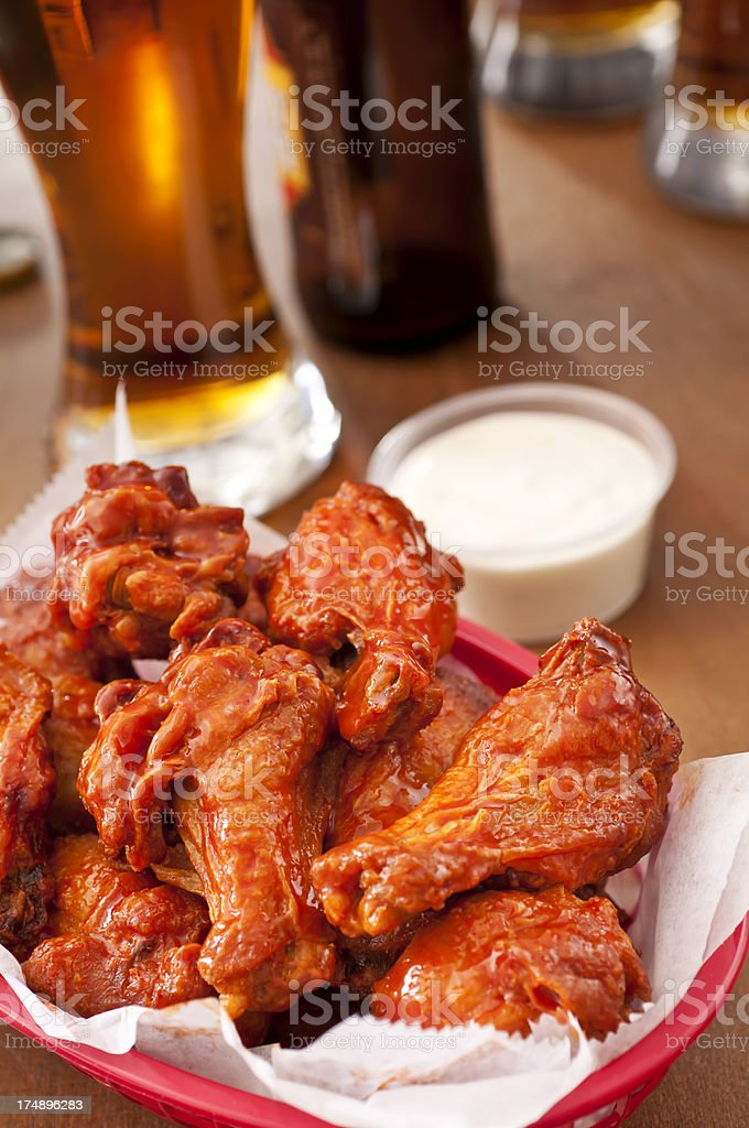 Hot Wings stock photo