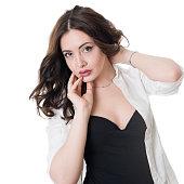 Hot woman portrait
