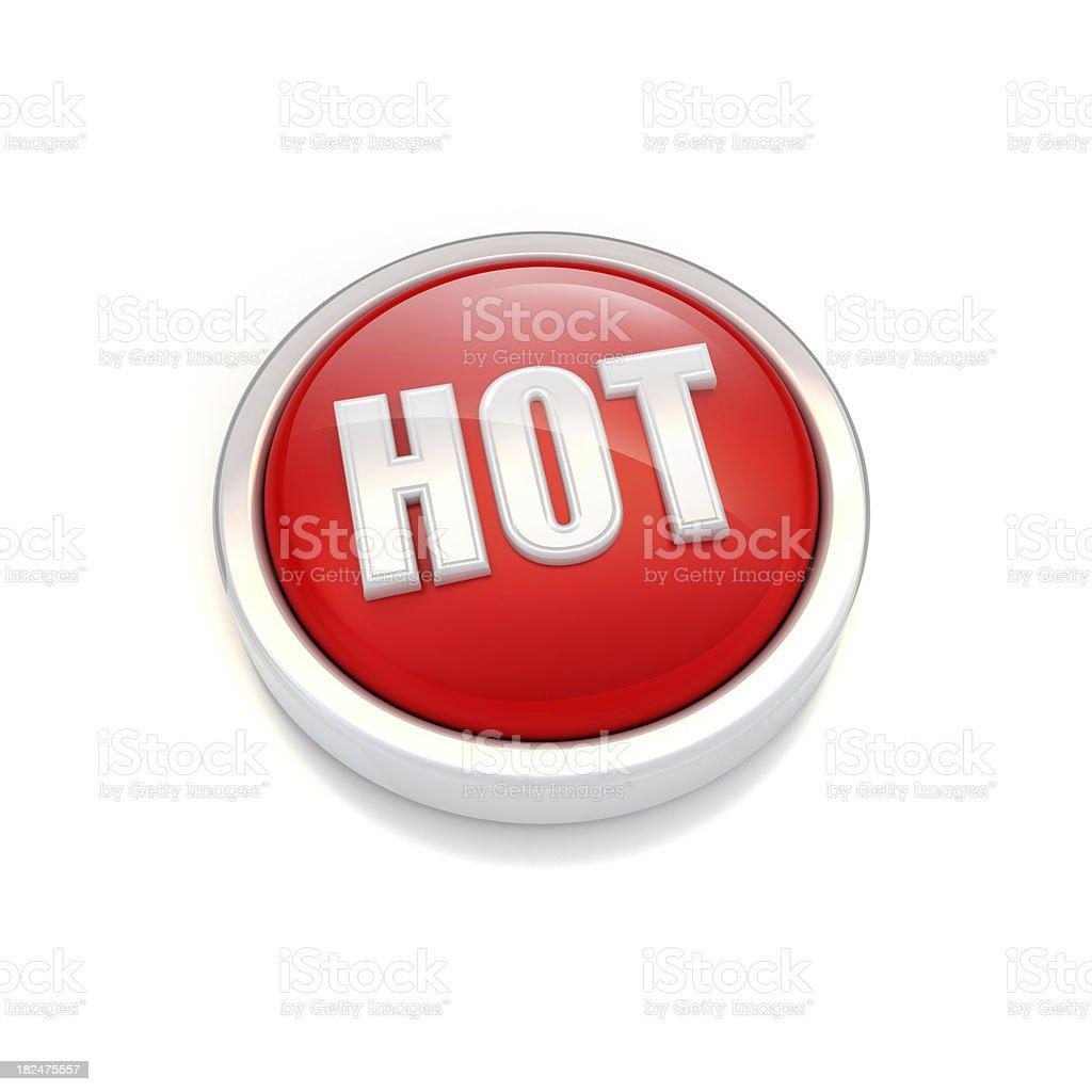 hot word icon royalty-free stock photo