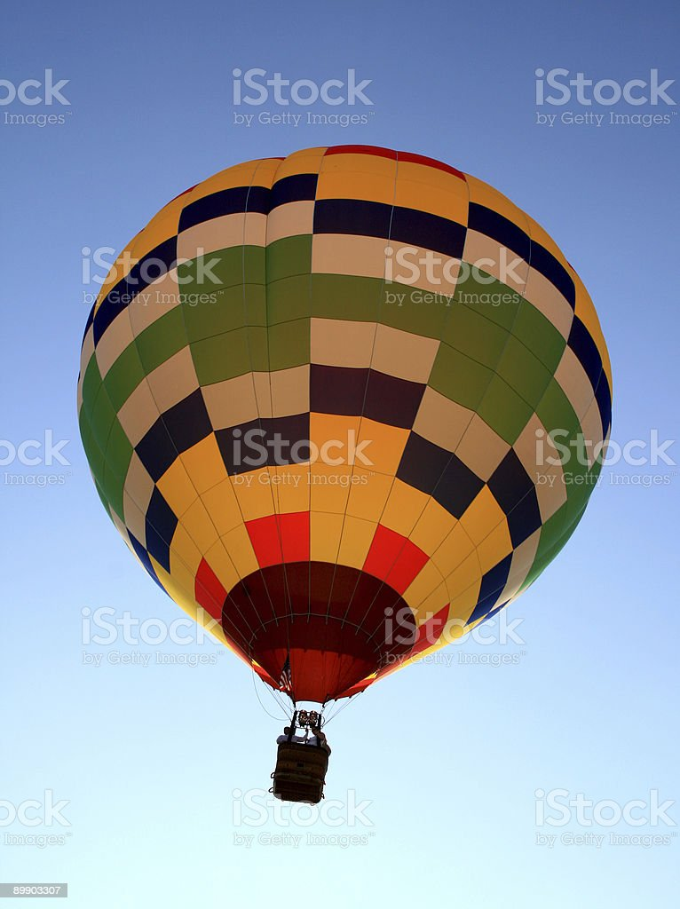 hot-air balloon festival in New Jersey royalty-free stock photo