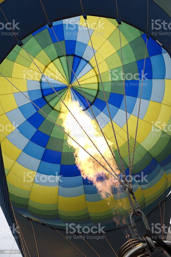 Hot-air balloon royalty-free stock photo