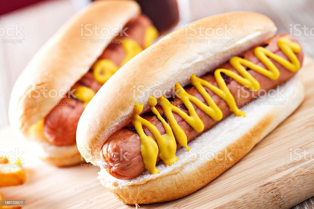 Hotdog royalty-free stock photo