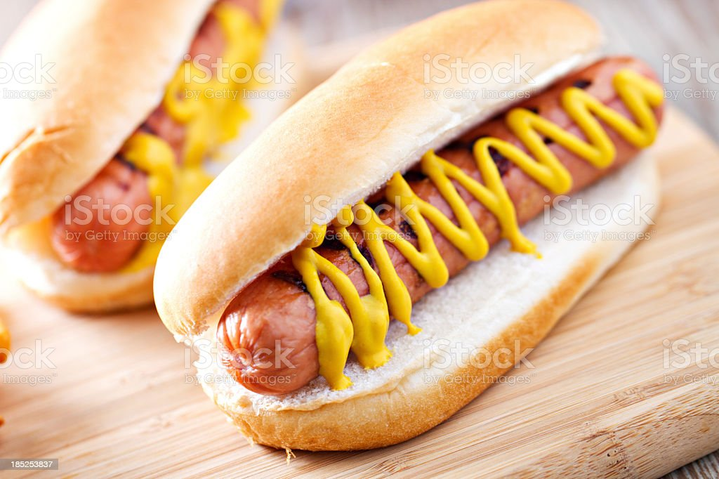 Hotdog stock photo