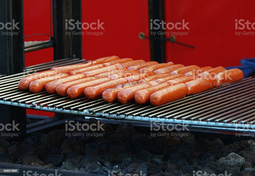 Hotdogs stock photo