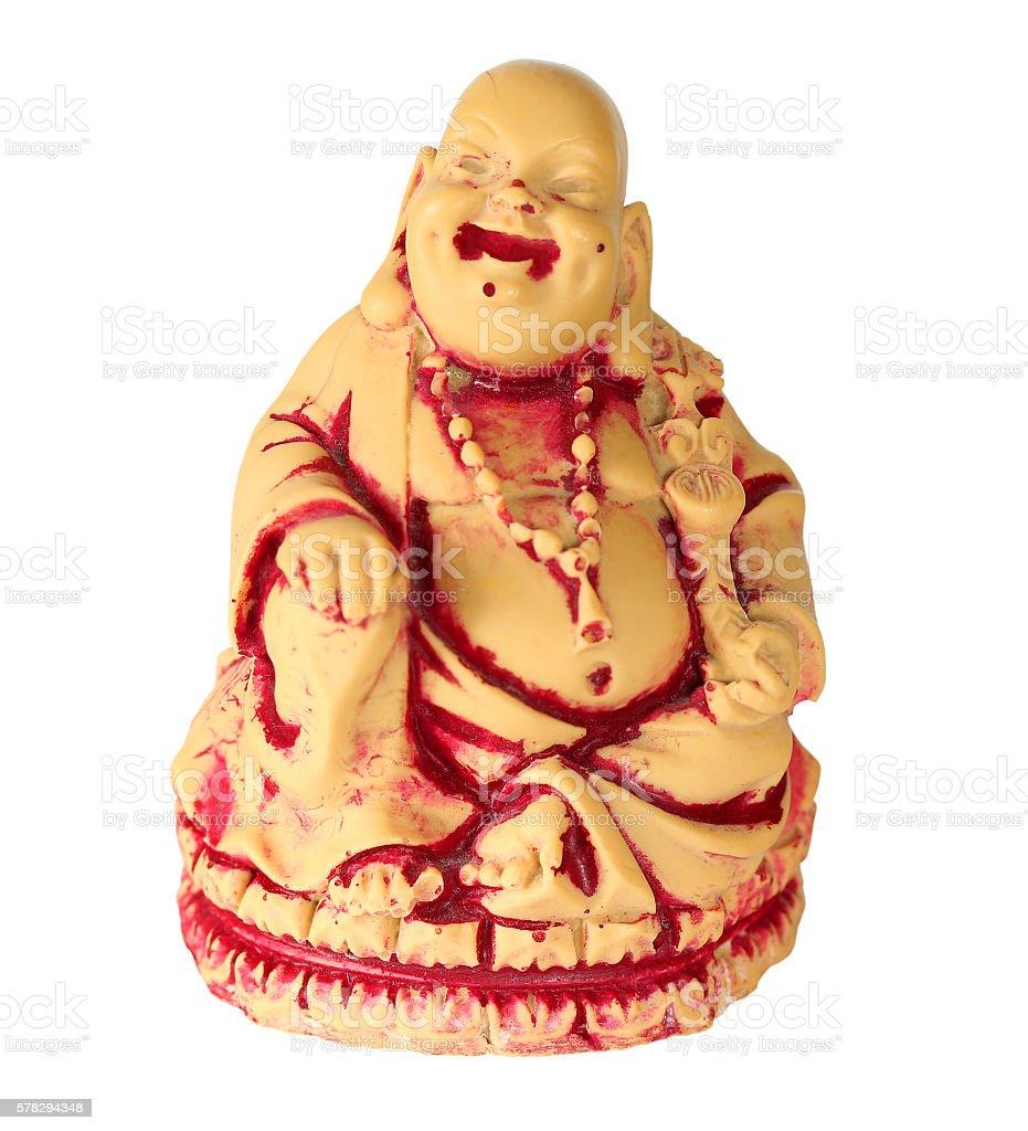 Hotei Buddha stock photo