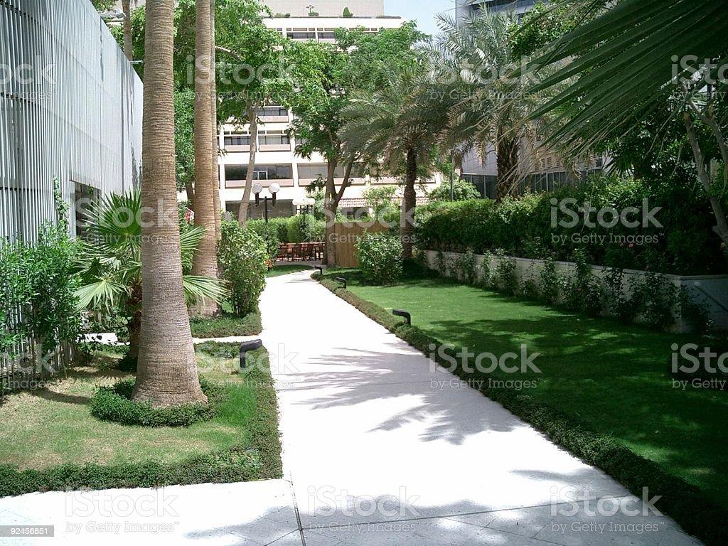 Hotel Al Khozama, Riyadh, Saudi Arabia stock photo