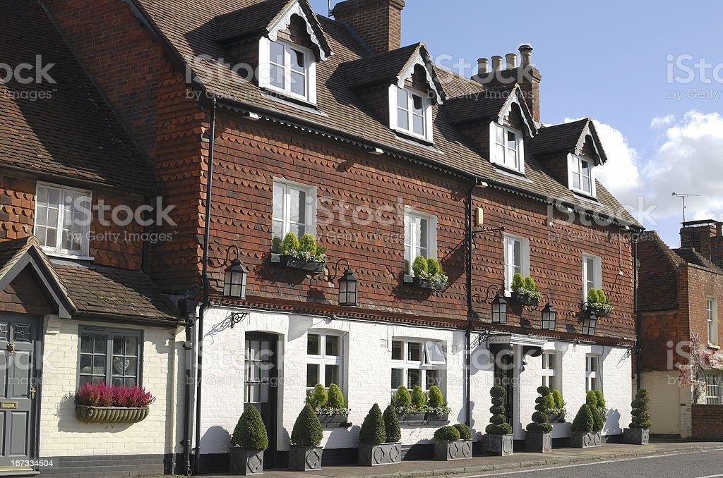 Hotel and Pub at Chiddingfold. Surrey. England stock photo