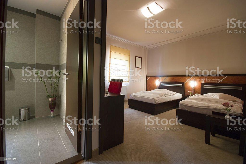 Hotel apartment royalty-free stock photo