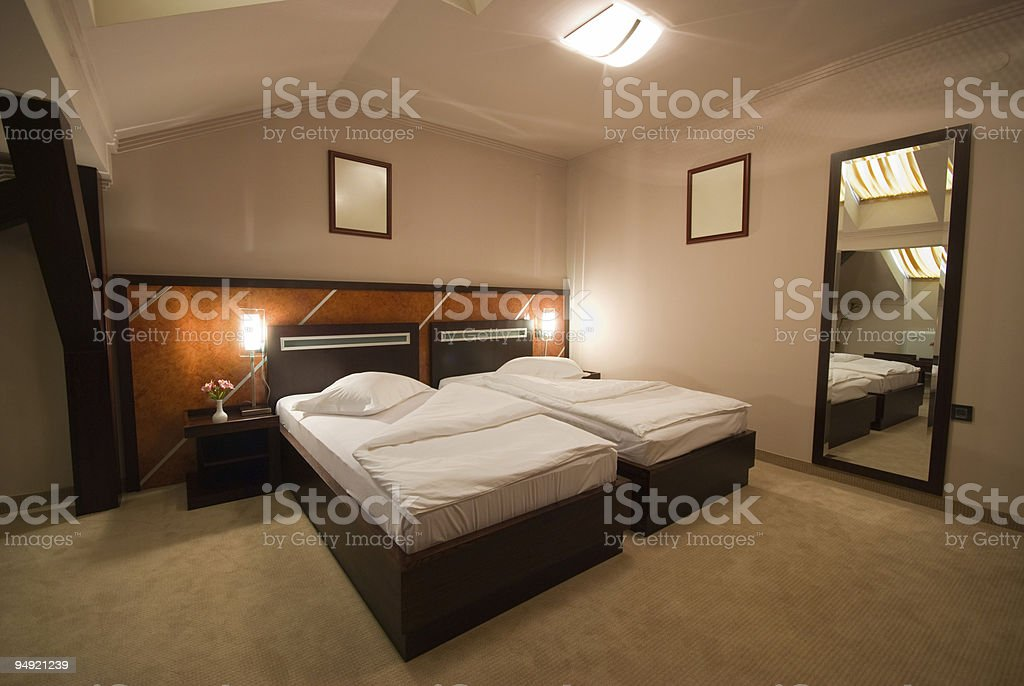 Hotel apartment royalty-free stock photo