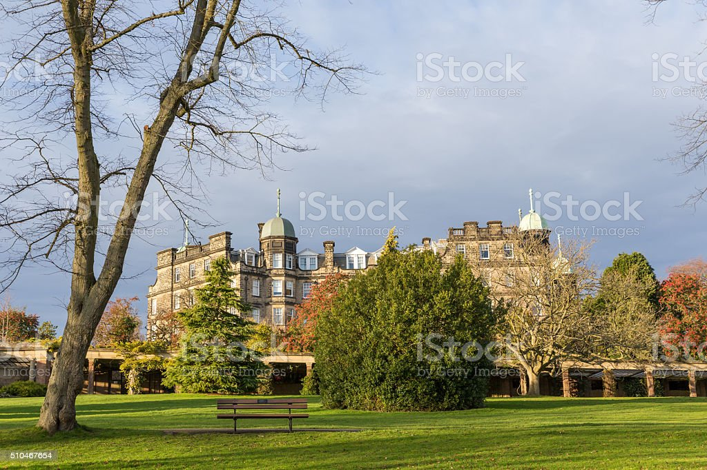 Hotel architecture building Harrogate England stock photo