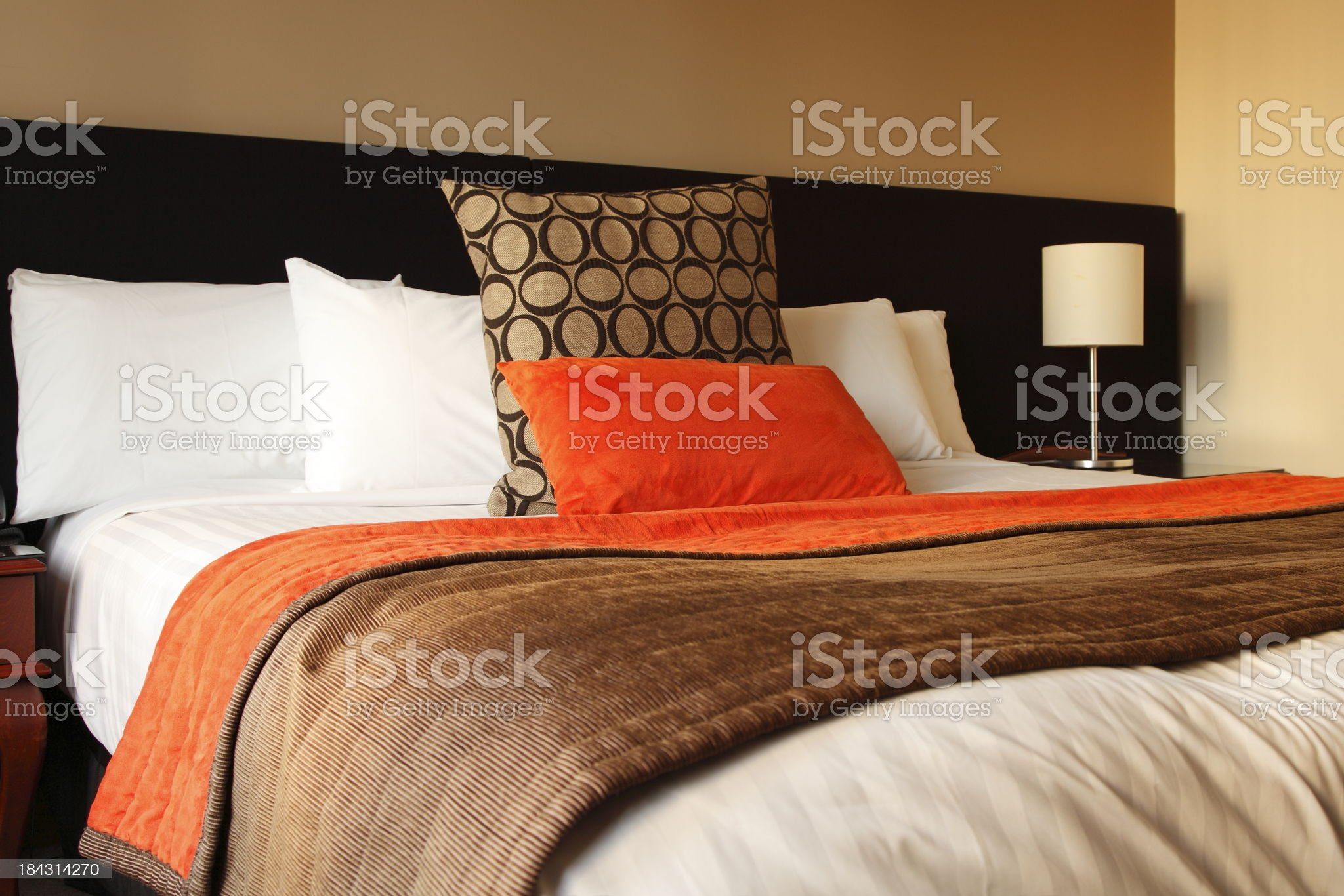 Hotel Bedroom royalty-free stock photo