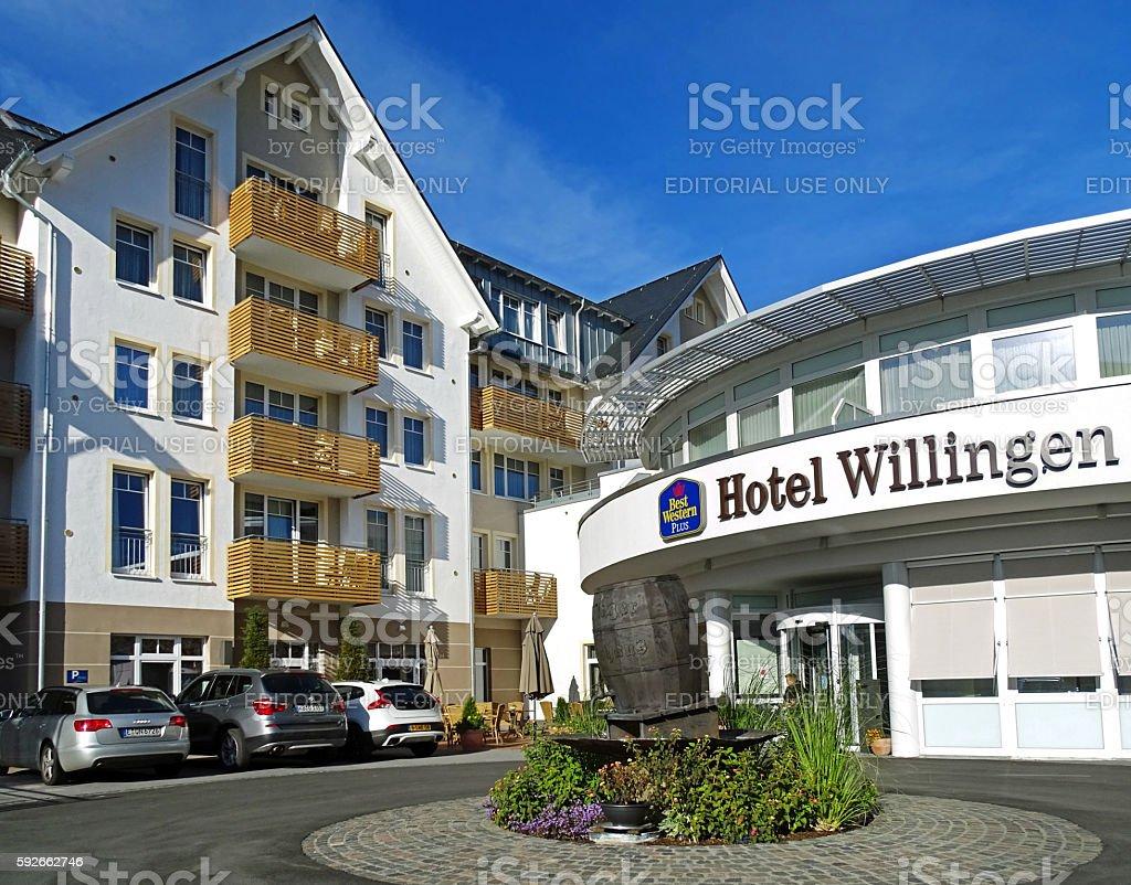 Hotel Best Western Plus in Willingen (Germany) stock photo