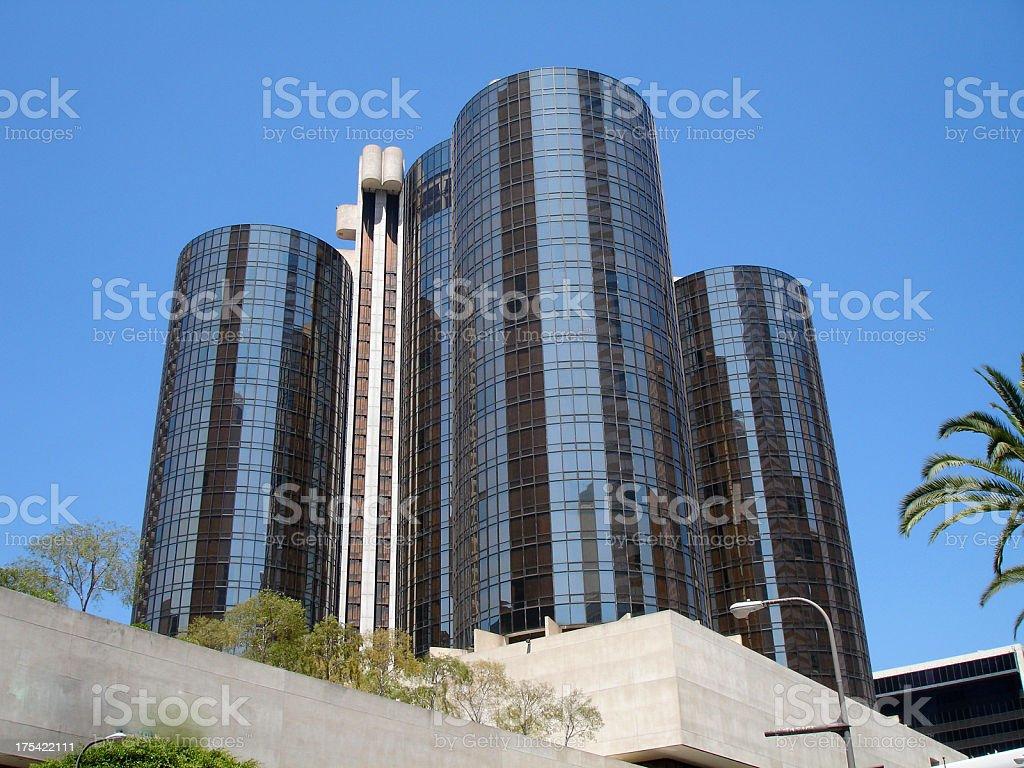 Hotel Bonaventure Los Angeles stock photo