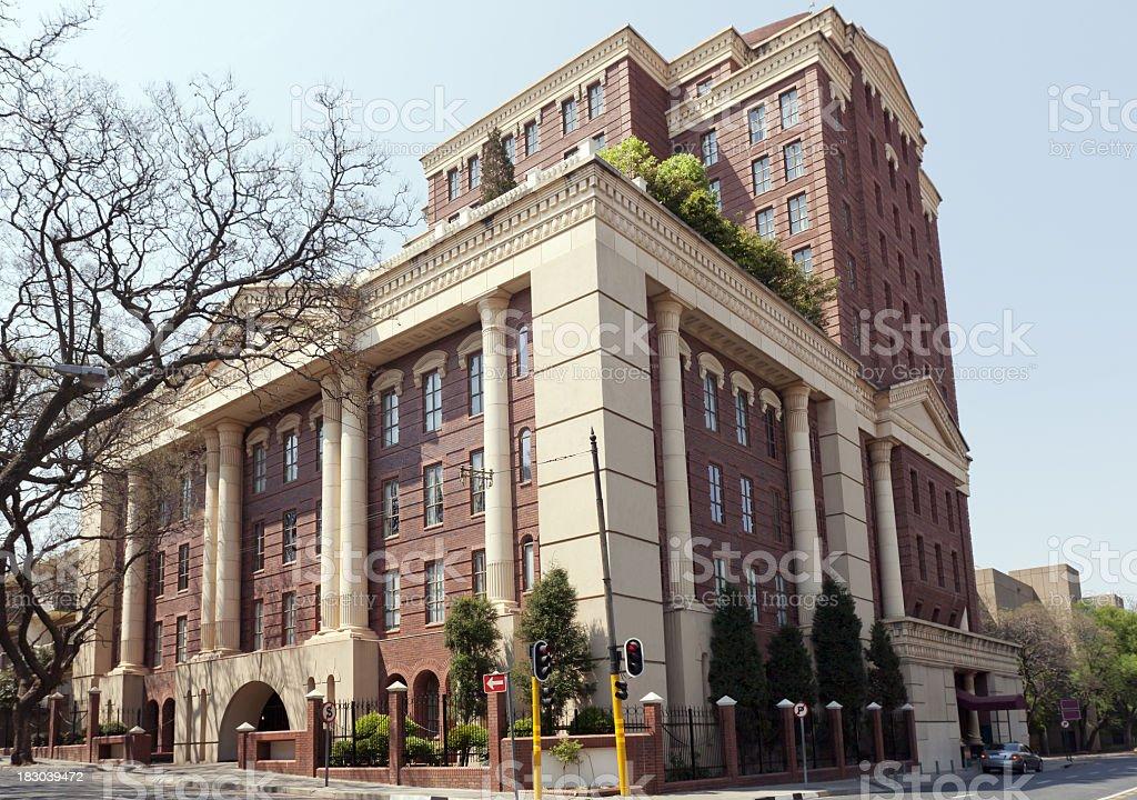 Hotel Building in Rosebank royalty-free stock photo