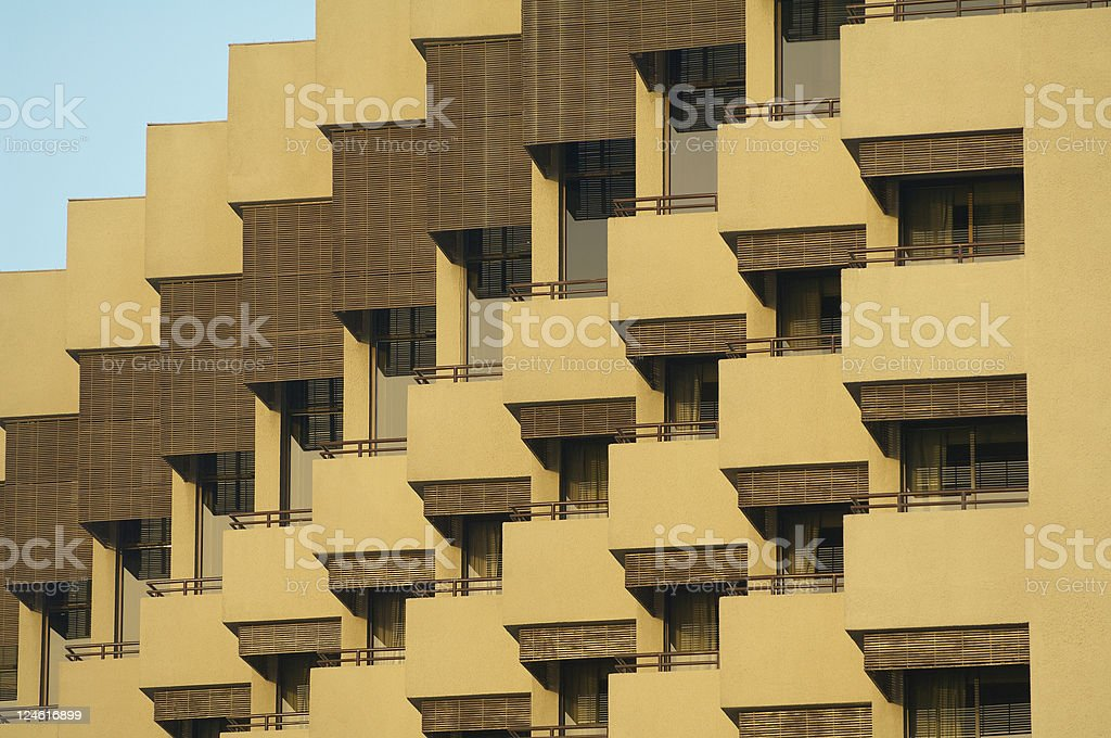 hotel building royalty-free stock photo