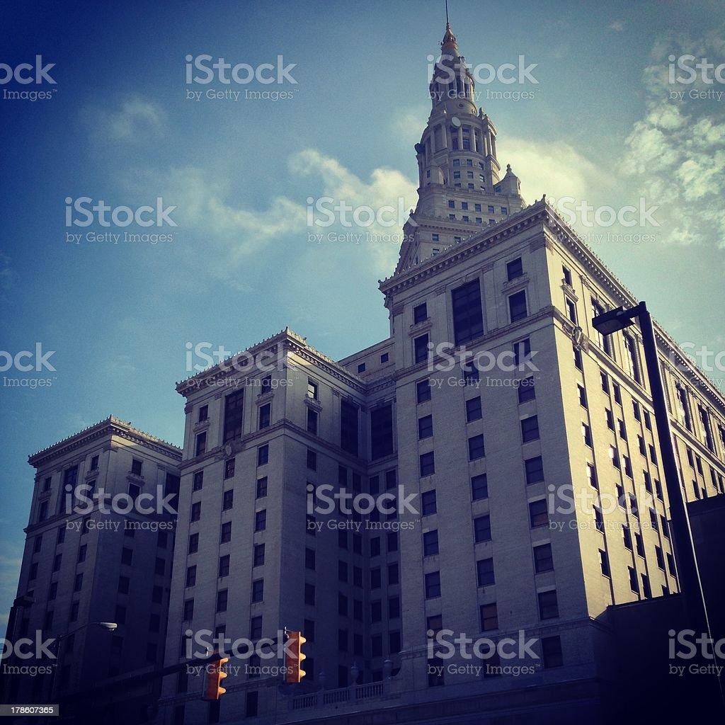Hotel Cleveland royalty-free stock photo