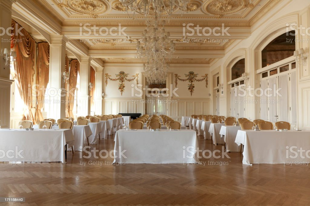 Hotel conference room. stock photo