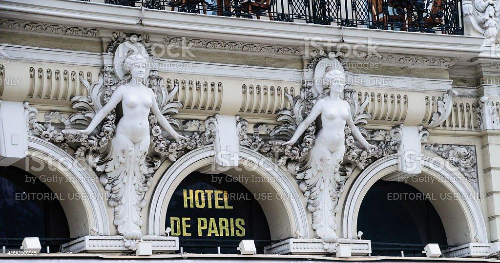 Hotel De Paris Monte-Carlo stock photo