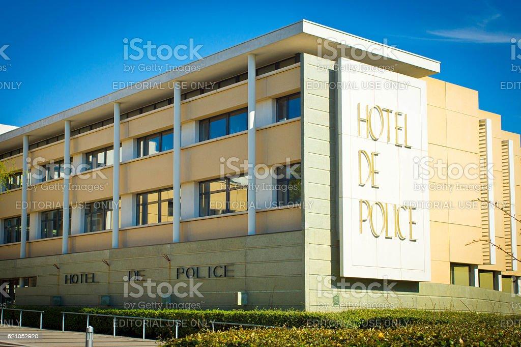 Hotel de Police stock photo