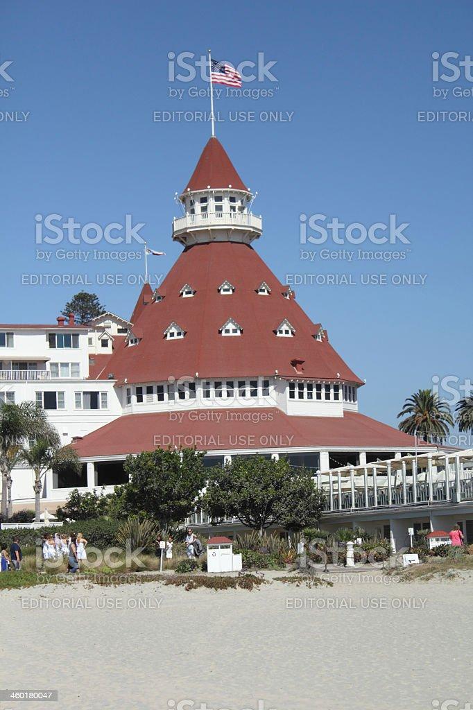 Hotel Del Coronado, San Diego, California royalty-free stock photo
