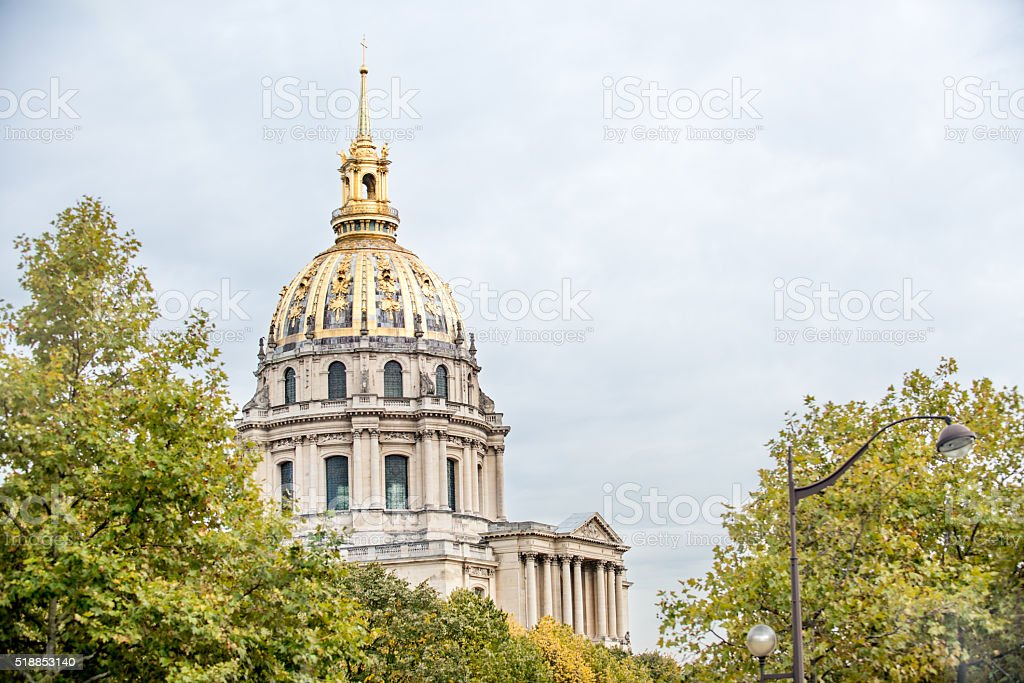 Hotel des Invalides, Paris stock photo