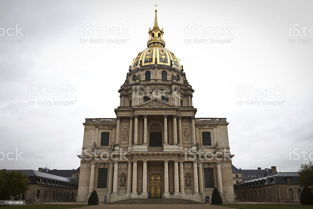 Hotel des Invalides royalty-free stock photo