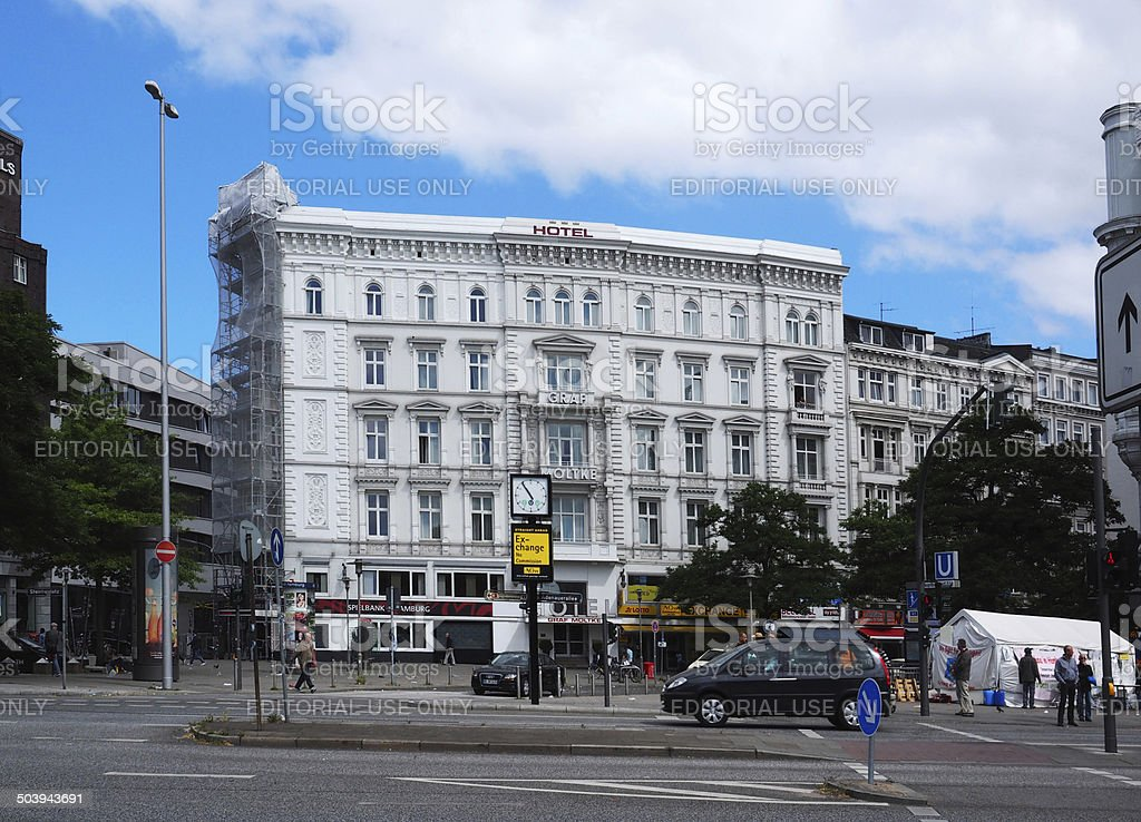 Hotel Graft Molke, Hamburg stock photo