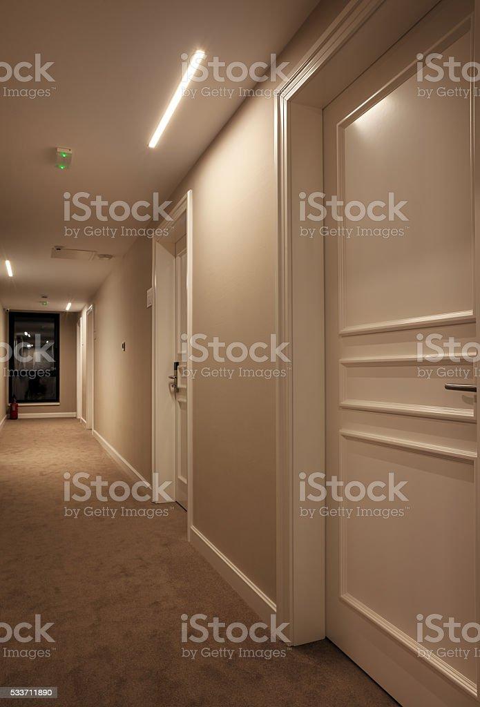 Hotel Hall Interior stock photo