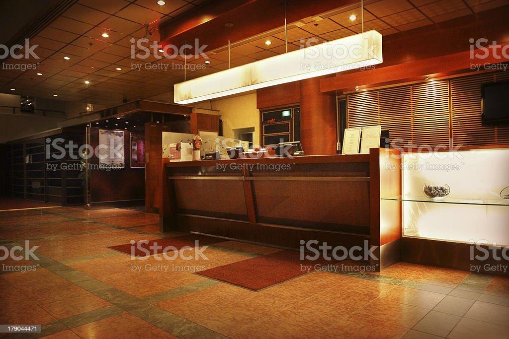 Hotel hall royalty-free stock photo