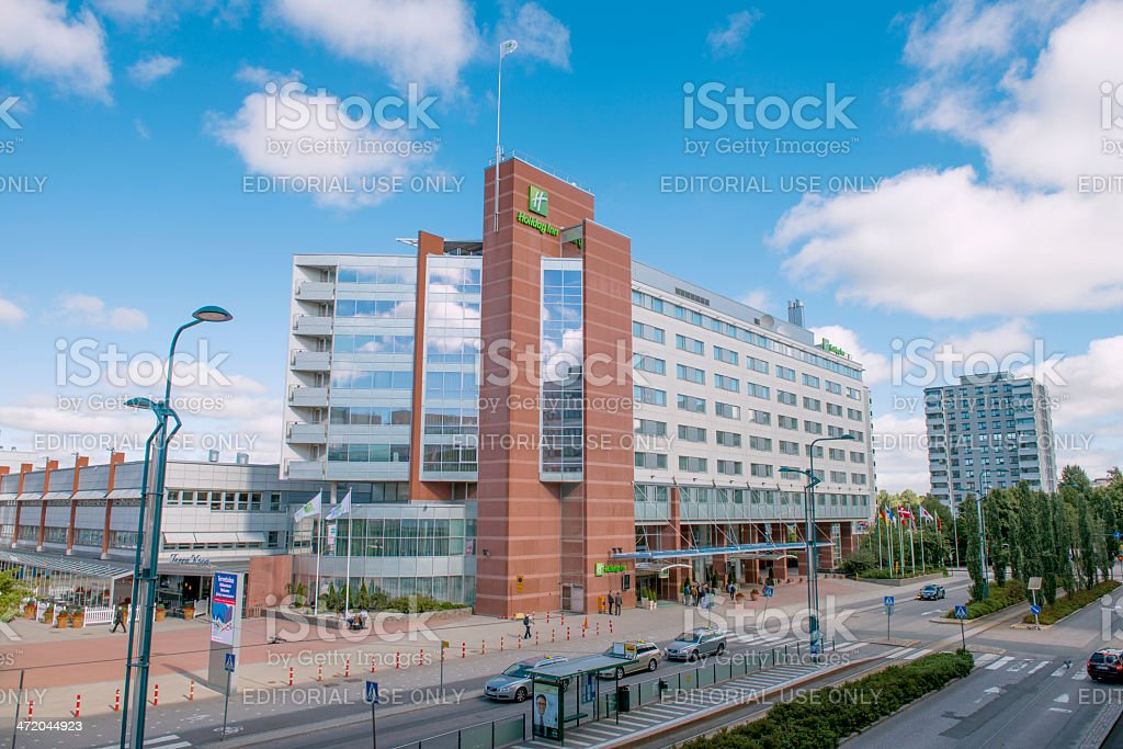 Hotel HOLIDAI INN in Helsinki stock photo