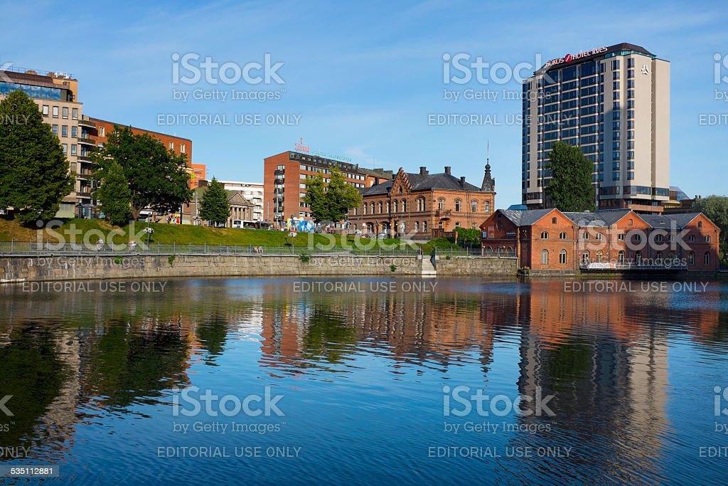 Hotel Ilves in Tampere, Finland stock photo