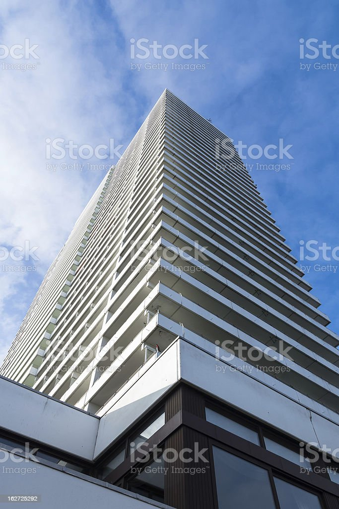 Hotel in Travemuende (Hanseatic City of Luebeck), Baltic Sea stock photo