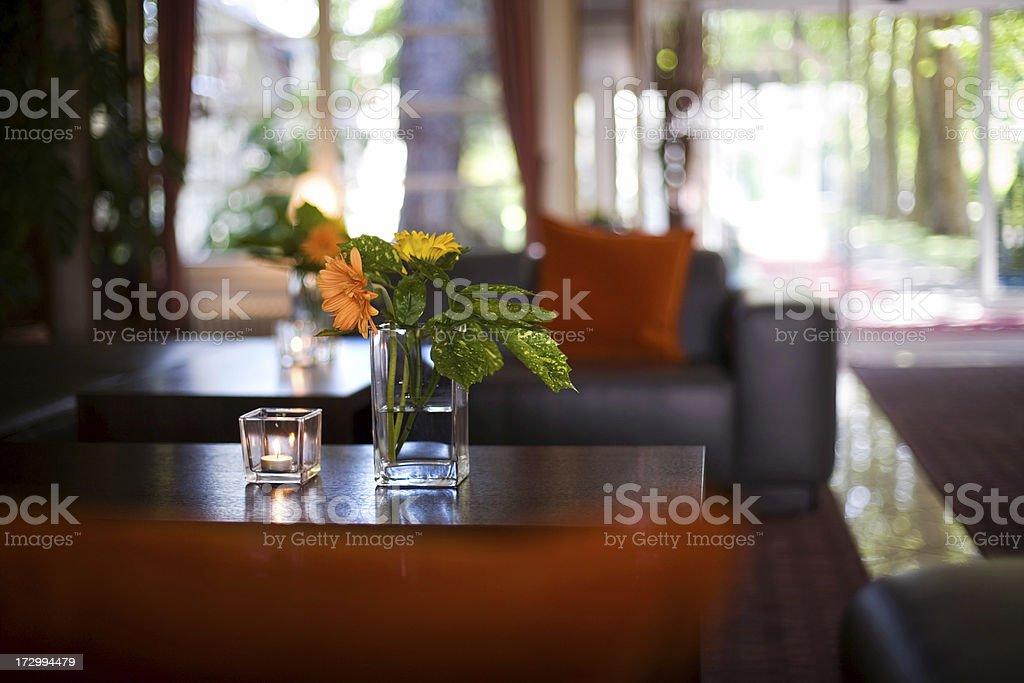 Hotel Interior royalty-free stock photo