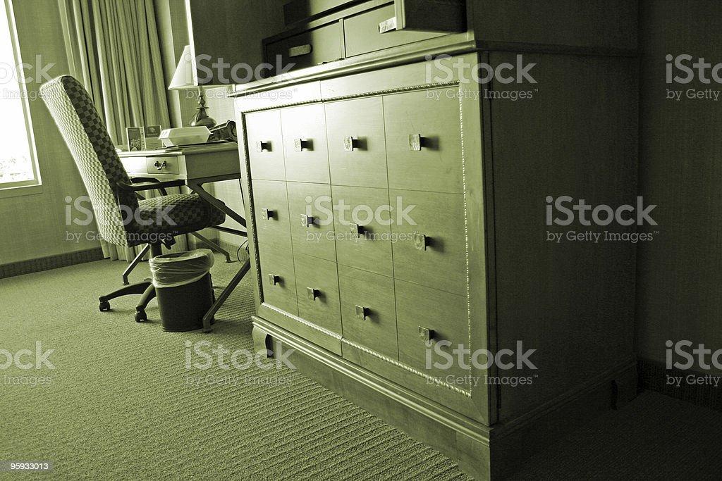 Intérieur de l'hôtel photo libre de droits