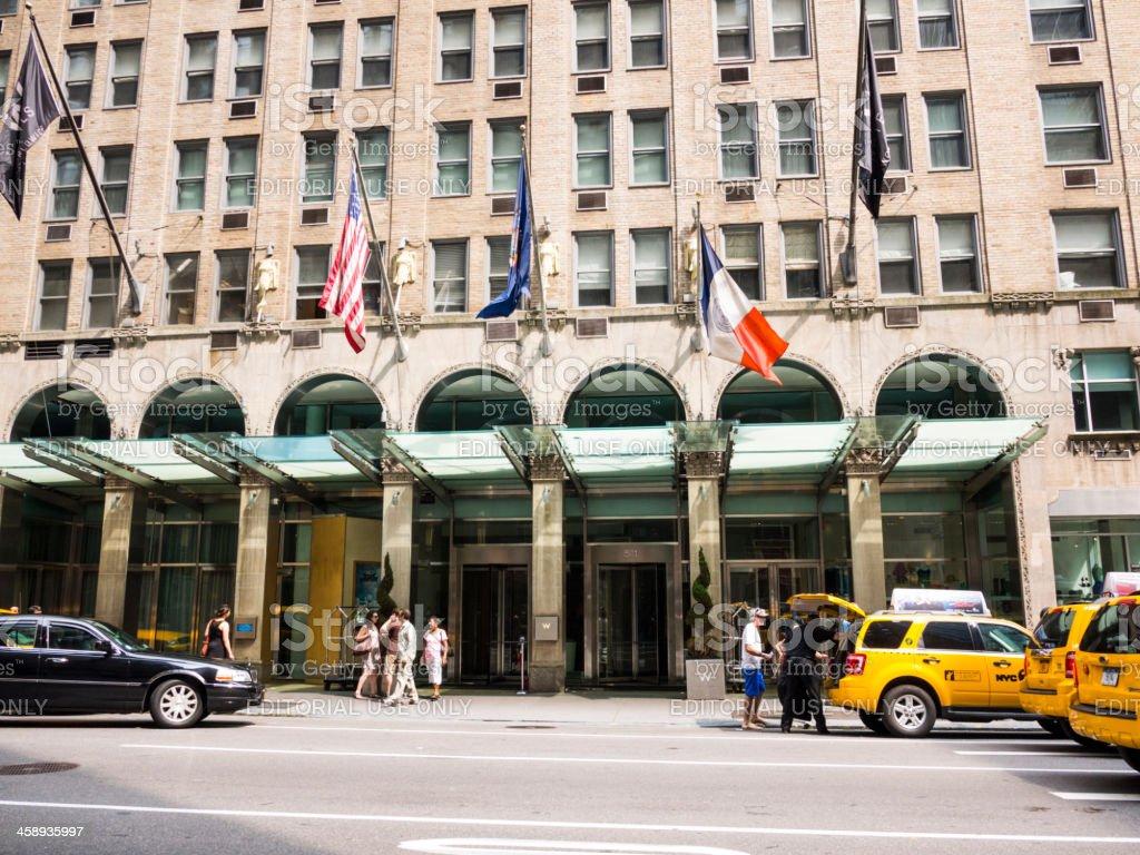 W Hotel Lexington Avenue Manhattan royalty-free stock photo