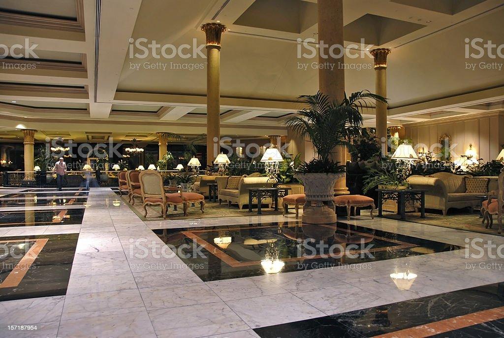 Hotel Lobby royalty-free stock photo
